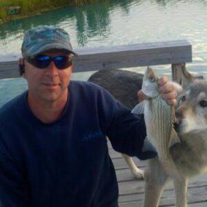 Darrell Rhoades, Ohmi and a pond fish
