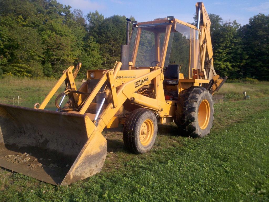 Backhoe for Pond equipment