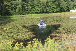 lake mower watershield
