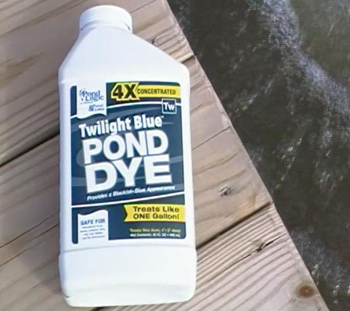 Pond dyes for Blue pond dye