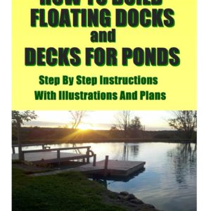 How to Build a Floating DEck, Dock Pier