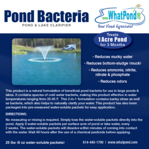one acre pond cleaner