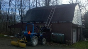 little barn before
