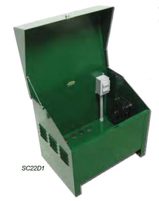 SC22D1 Deluxe lockable steel cabinet