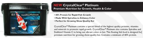 platinum fish food