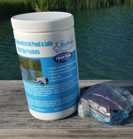 Concentrated Pond & Lake Dye Packets 4 packet