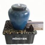 in ground vase fountain
