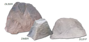 Fake rocks to cover pumps-compressors.