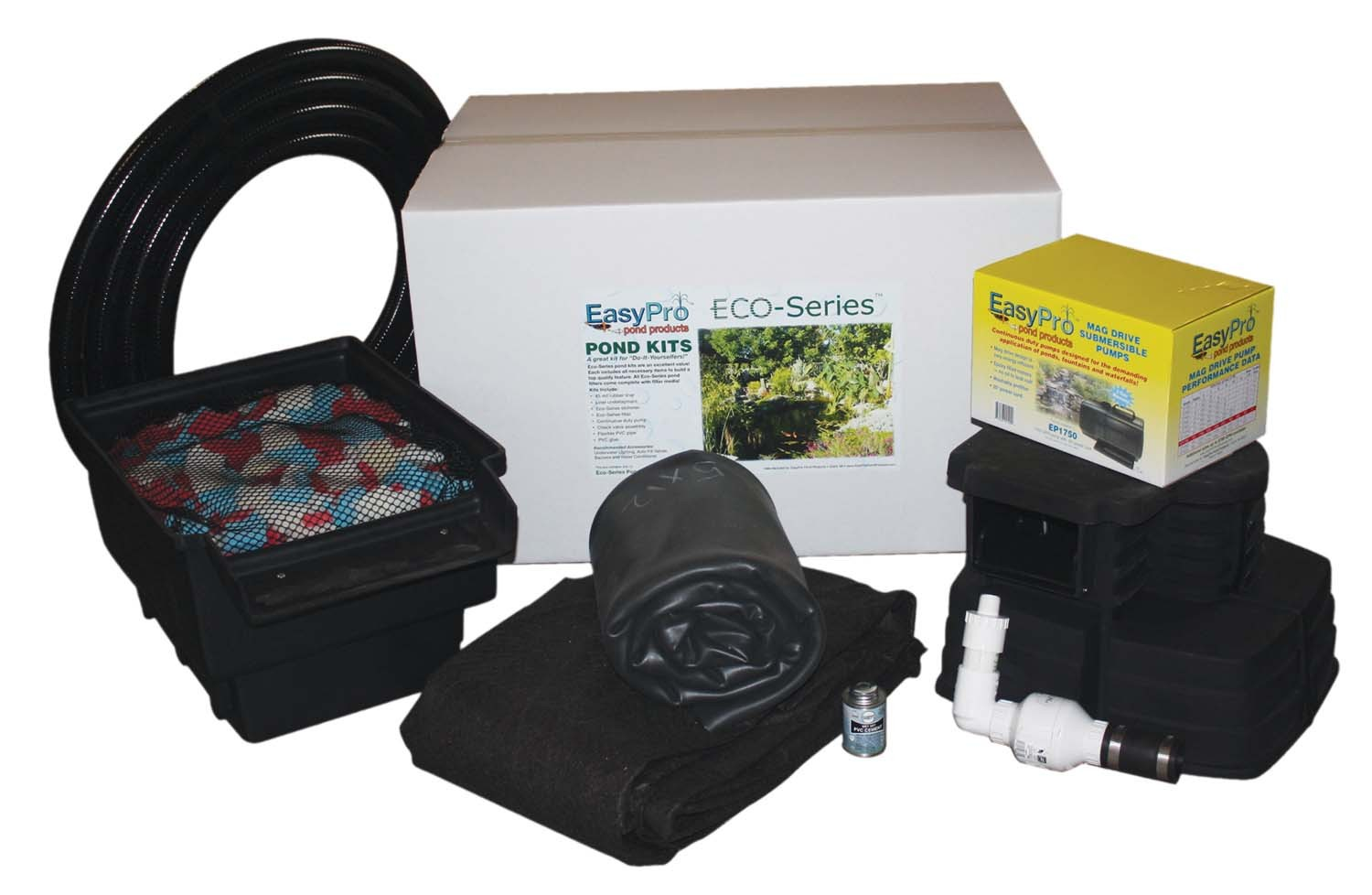 Pond kits for Fish pond kits