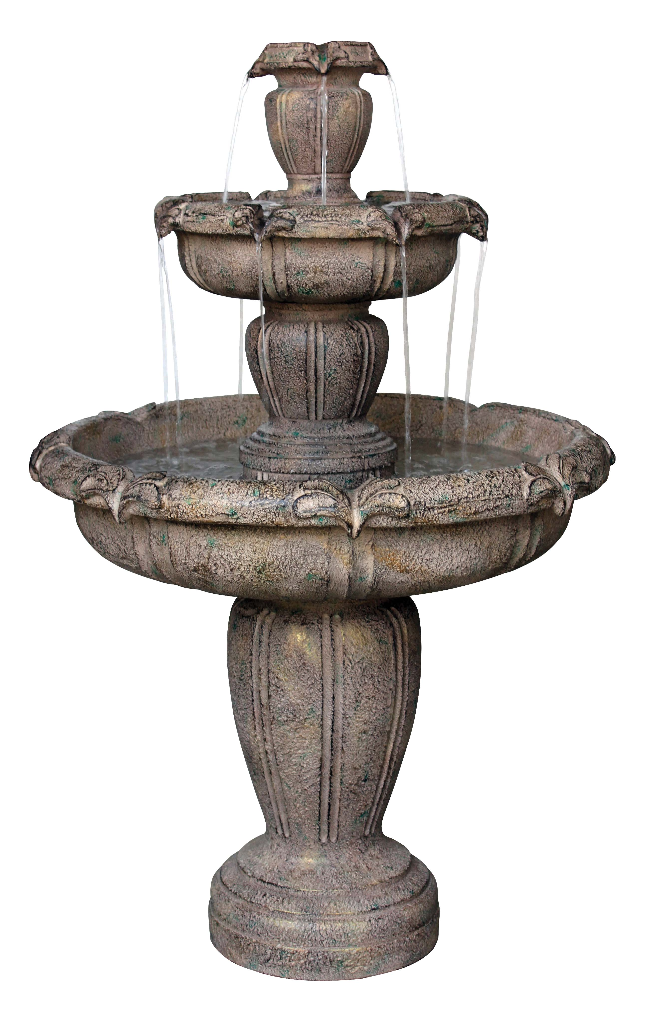 Great Fountain For An Outdoor Water Feature By Itself Or