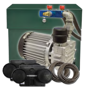 half horse rotary vane aeration system