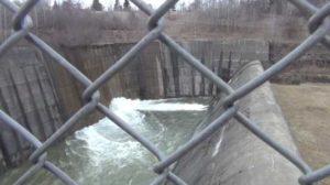 union city dam spillway