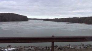 union city dam up stream